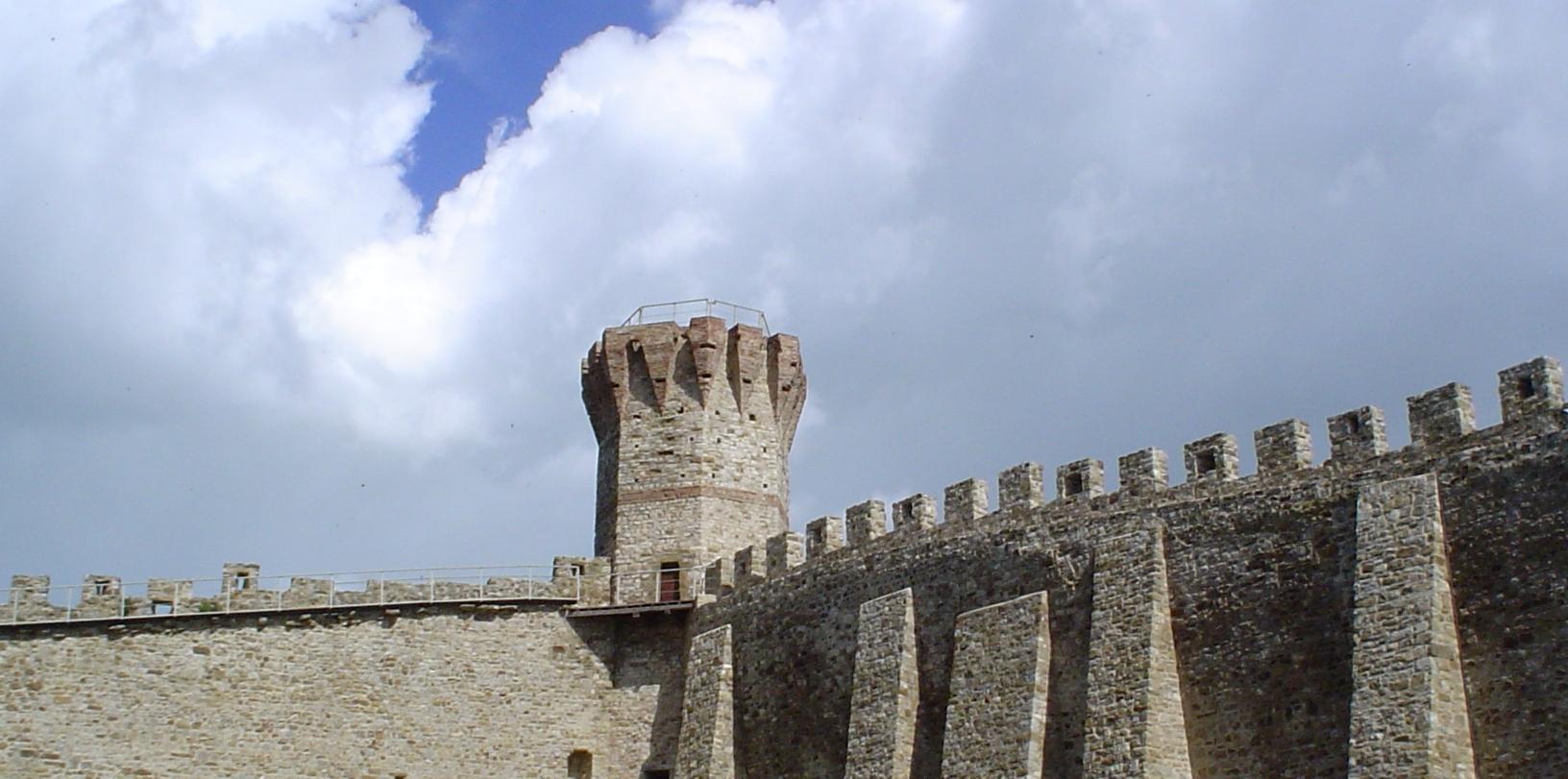 Il castello di Isola Polvese