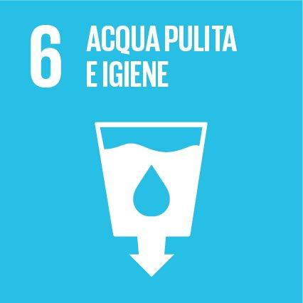 Obiettivo 6: Garantire a tutti la disponibilità e la gestione sostenibile dell'acqua e delle strutture igienico-sanitarie.