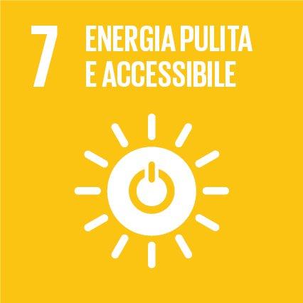 Obiettivo 7: Assicurare a tutti l'accesso a sistemi di energia economici, affidabili, sostenibili e moderni