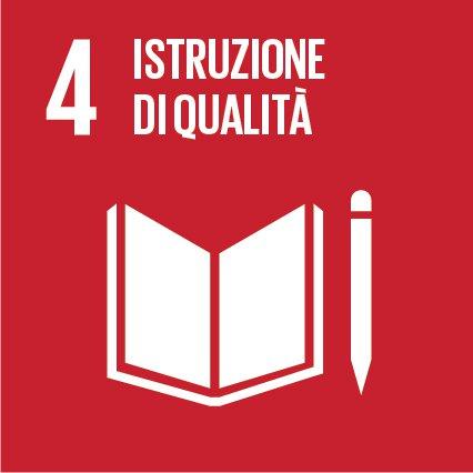 Agenda 2030 - Sviluppo sostenibile - Istruzione di qualità- Obiettivo-04