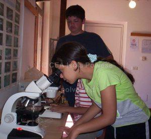 Laboratorio di Educazione Ambientale - Osservazione allo stereomicroscopio